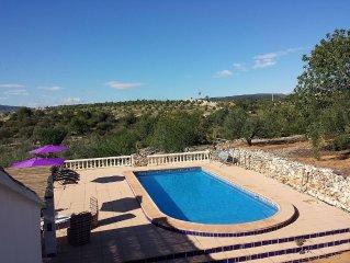 Vrijstaand landelijk vakantiehuis, met prive zwembad en veel privacy!
