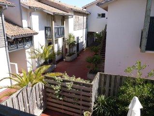 duplex avec jardin Cap Ferret centre