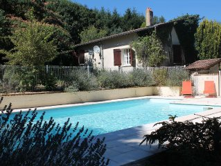 Beautifully refurbished property,  private swimming pool In fabulous grounds.
