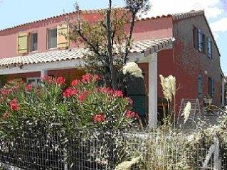 Lg Beach Villa w/Shared Pool-Beside Mediterranean Sea-Direct Flights To Beziers