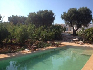 Charming Trulli near Ostuni with pool