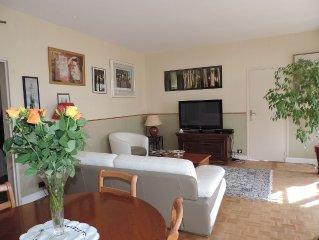 Appartement situe dans le parc de Maisons Laffitte dans un site d'exception