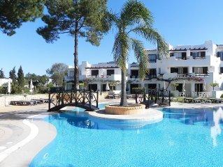 T1 set in Balaia Golf Village Resort 4 stars, 450m Sta. Eulália Beach, Albufeira