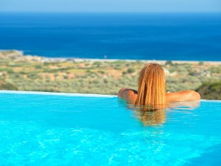 NEW  and LUXURY HOLIDAY HOME WITH SEAVIEW  VILLA OLYMPOS