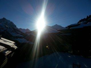 Méribel-Mottaret, 2 pièces de 27m2 , belle vue plein sud, ski aux pieds à 1850
