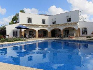 Unique Luxury Spanish Villa with fabulous Mediterranean Garden