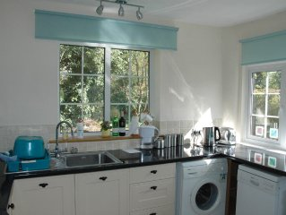 Leys Farmhouse Annexe- a self contained holiday let with its own garden .