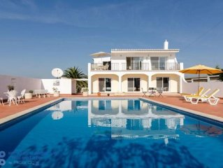 Luxury Villa With Large Private Pool And Panoramic Sea Views