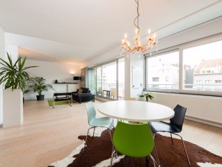 Modern, ruim 4 persoons appartement in trendy buurt Het Eilandje