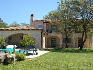 Peaceful Seclusion In This Beautiful Traditional Istrian Stone Villa.