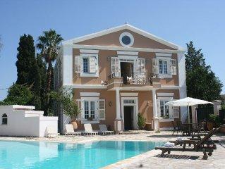 Gerald Durell's Strawberry Pink Pool Villa