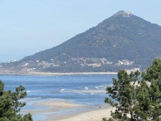 House in Moledo overlooking the Atlantic Ocean and Spain