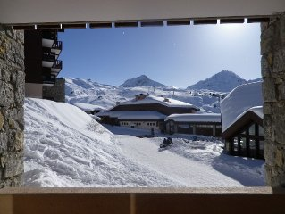 Appartement 2 pieces confortable et soigne Belle Plagne (4/5 pers.)