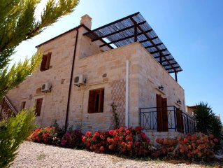 Private and Luxurious Traditional Stone Family Villa with Private Pool