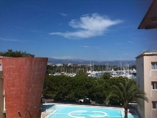 Penthouse Apartment With 2 Pools Air Con 2 Terraces +  Lge private roof terrace