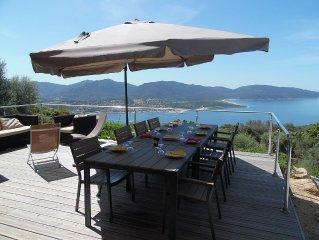 Face a la mer, Villa  avec piscine chauffee