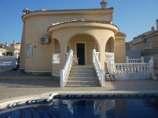 Villa Conchita In Rojales Hills with private pool
