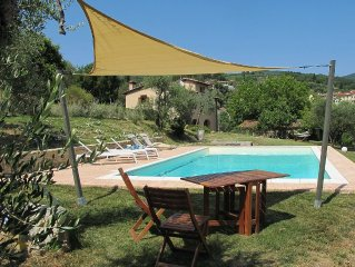 Villa with swimming pool on the Florentine hills 25 Km from Florence