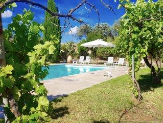 Alghero, prestigiosa antica dimora indipendente con piscina per 8/9 persone
