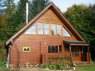 WILDWOOD set in the heart of the Scottish Highlands near Loch Ness- Pet Friendly