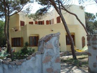 Beach side villa & private pool.