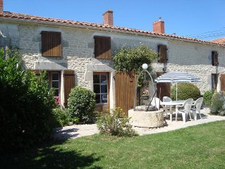 Beautifully Restored Farmhouse near La Rochelle.