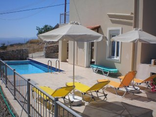 Pool area with 08 sun beds, BBQ Hut with Table and chairs