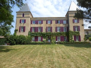 A beautiful 1800 chateau near Toulouse, Mirepoix and Carcassonne.