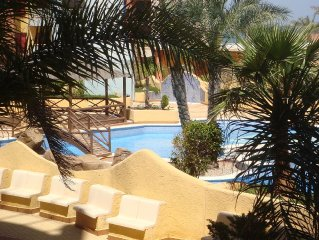 Beautiful 2 Bed Apartment, 50 Metres From The Beach Near La Manga. Private wifi