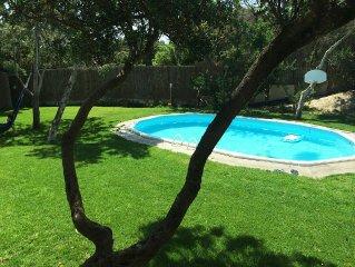 Villasimius, Villa con piscina esclusiva, 300 m. dal mare, Porto giunco, Notteri