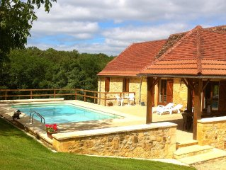Newly Renovated Traditional Stone House With Private Salt Water Pool