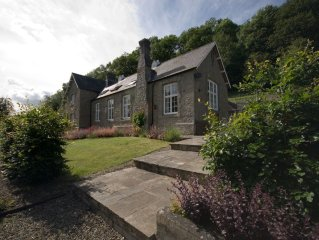 Converted Georgian school house nestling in the stunning Clun Valley