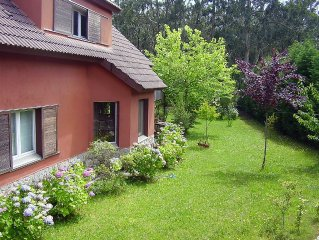 """Eco-vacaciones en """"Casa dos Contos"""" - Tranquilidad y naturaleza en Galicia"""