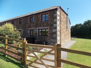 Peaceful Cottage In Outstanding Countryside; Close to Rock and Polzeath.