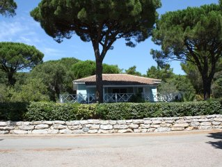 Luxury Hillside Timber Lodge in Large Garden Nr St Tropez