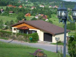 CHALET DE MONTAGNE INDIVIDUEL A 6 KM DE GERARDMER - CONNEXION ADSL-WIFI