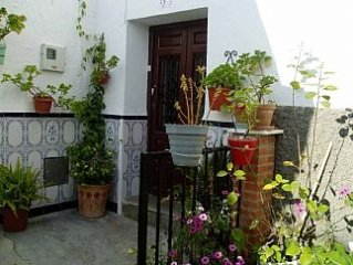 Traditional House In White Spanish Village