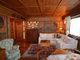 Delizioso appartamento con vista mozzafiato sulle Dolomiti