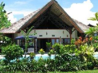 Villa***** au bord de la mer de Bali