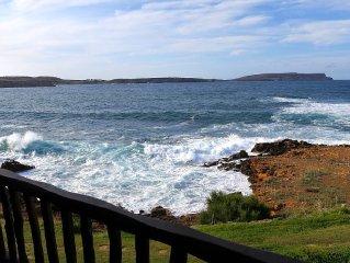 Primerísima línea de mar en Menorca