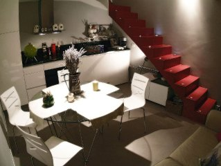 Completely renoveted stone house inside old city walls for 4 people