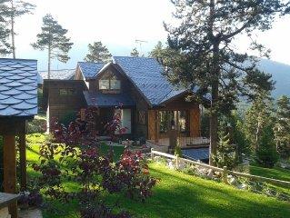 Espectacular casa de madera en estacion de esqui Port de comte