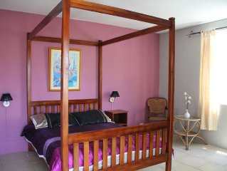 Flic En Flac: Furnished Apartment 60m from beach with WIFI Internet