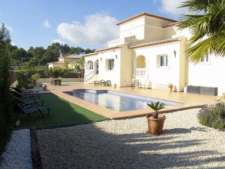 Immaculate, Large Luxury Villa, with Private Pool, Moraira.