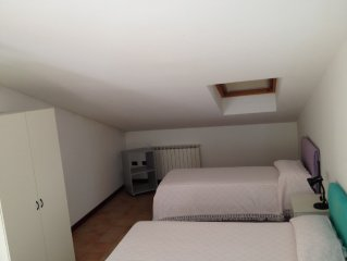 Lovely loft in the villa. Terrace overlooking Urbino 1 km from the center