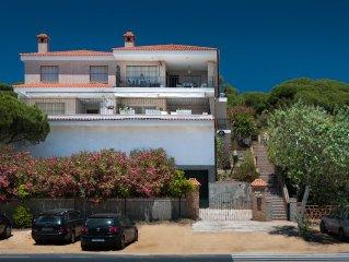 Apartamento Mazagon  Playa con una inmensa terraza