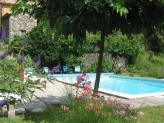 country holiday home - Laboule, renovated, swimming pool