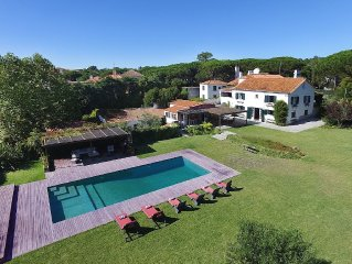 Villa for 14, w/ swimming pool and panoramic views.