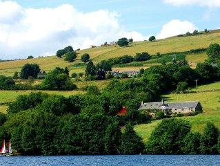 Cottage, Loch Tummel, Pitlochry, Perthshire, Scotland, Waterfront 6adult4child