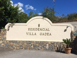 Altea-Luxe penthouse Villa Gadea-direct aan zee- zwembad-prachtig uitzicht-WiFi